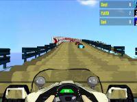 Achterbahn Autorennen